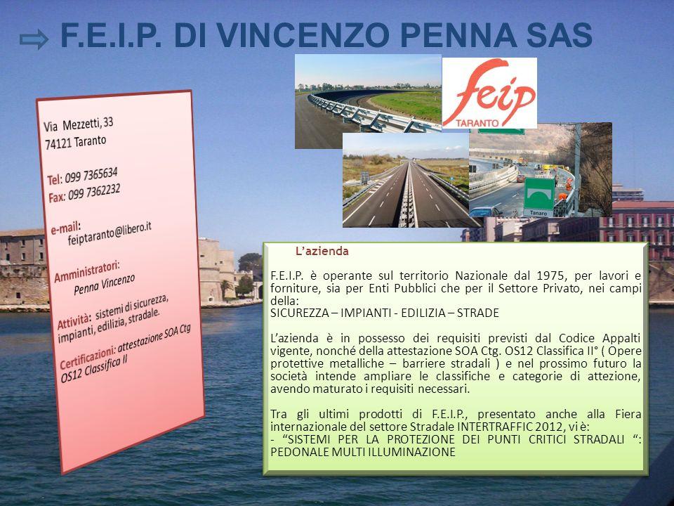 F.E.I.P. DI VINCENZO PENNA SAS
