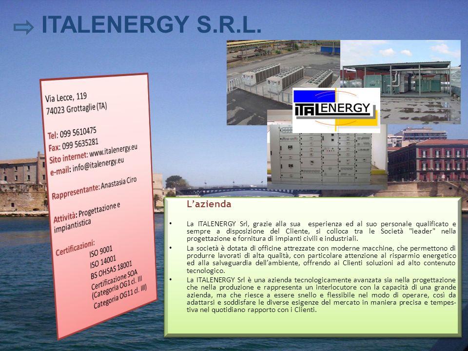 ITALENERGY S.R.L. Via Lecce, 119 74023 Grottaglie (TA)