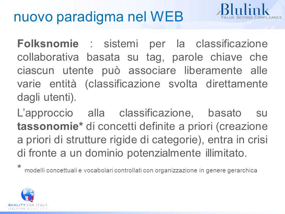 nuovo paradigma nel WEB