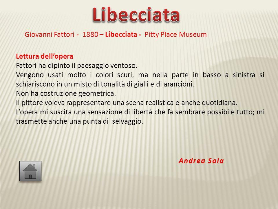 Libecciata Giovanni Fattori - 1880 – Libecciata - Pitty Place Museum