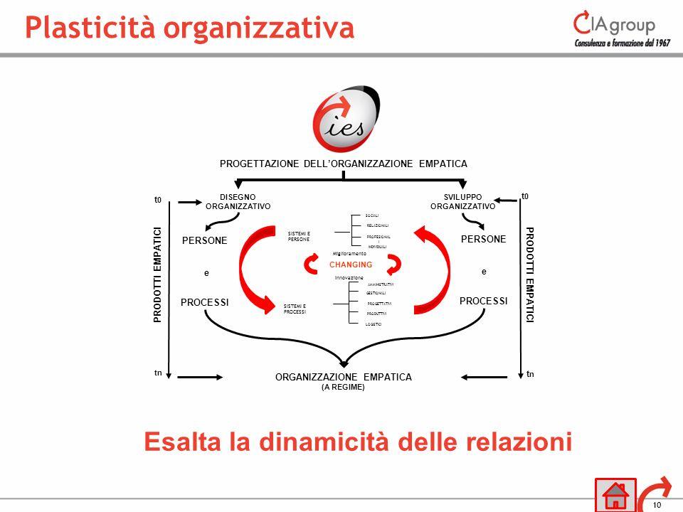 Plasticità organizzativa