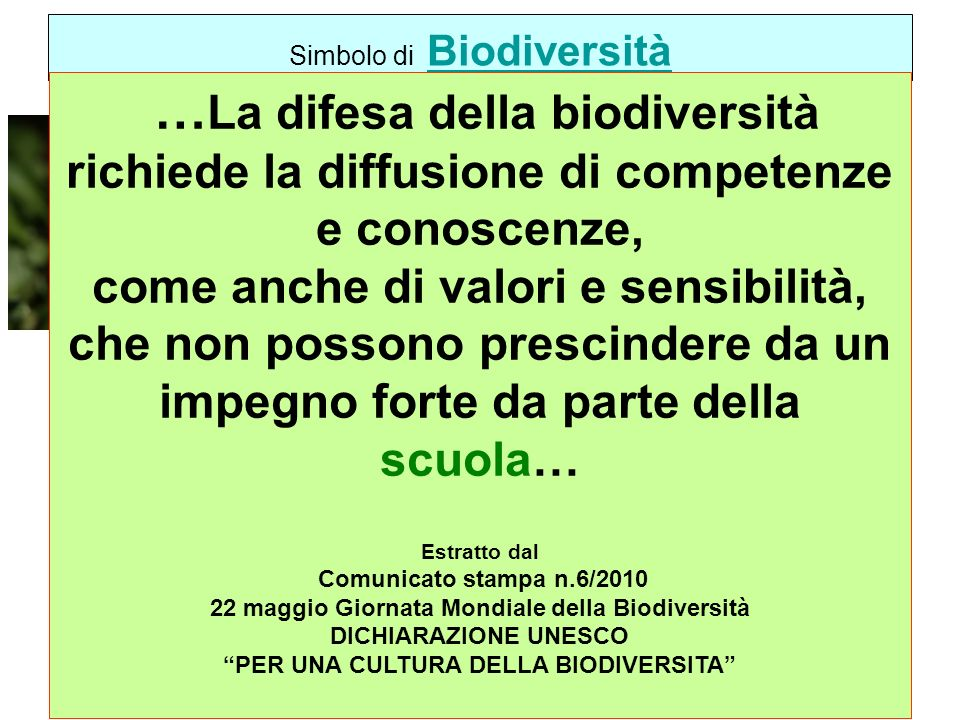 Simbolo di Biodiversità