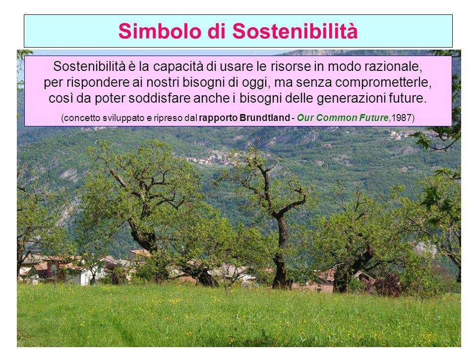 Simbolo di Sostenibilità