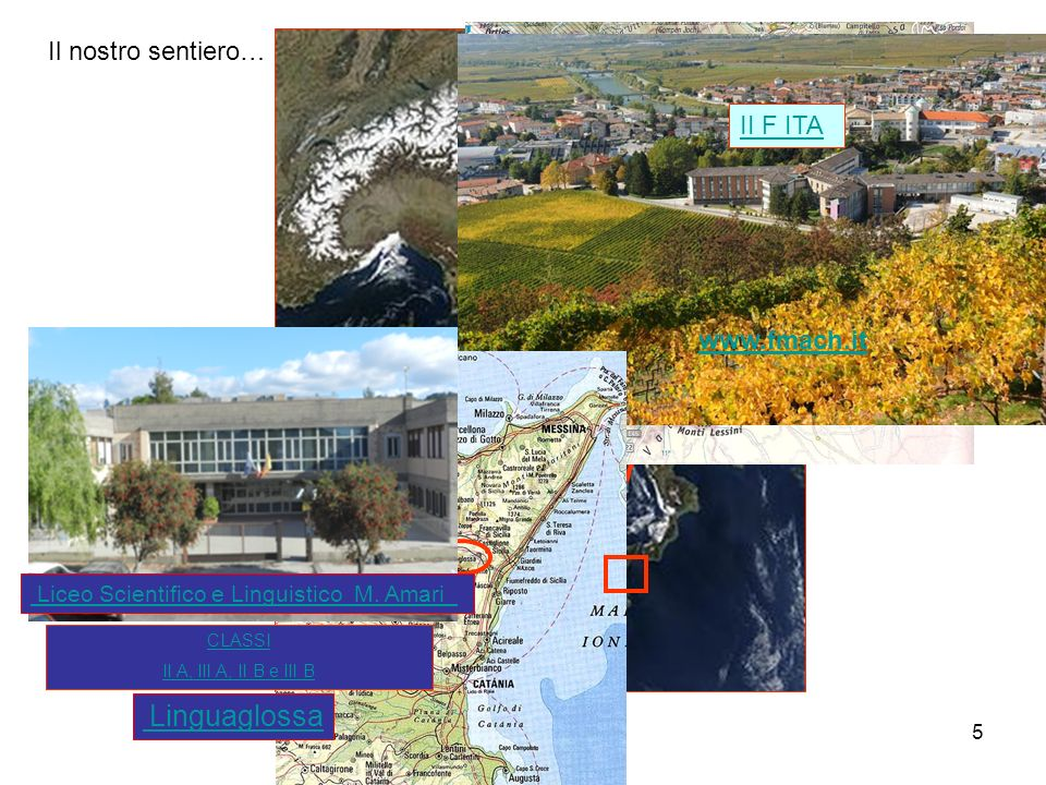 Il nostro sentiero… II F ITA www.fmach.it