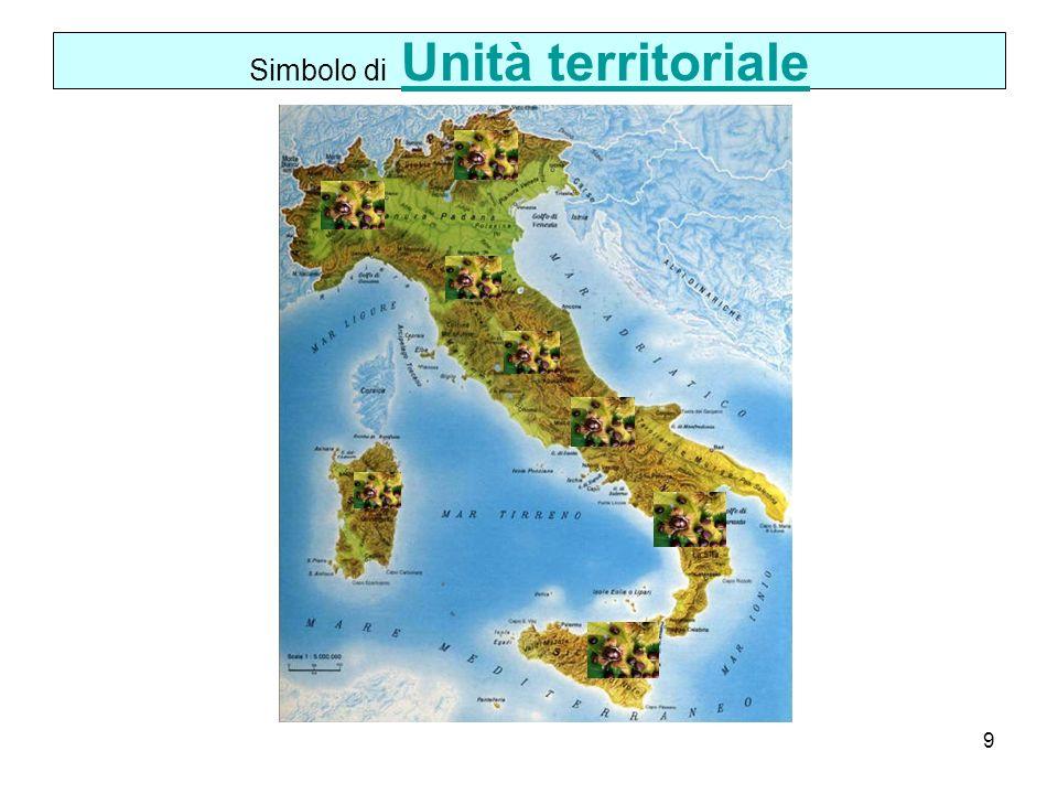 Simbolo di Unità territoriale
