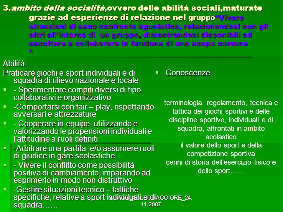 - Sperimentare compiti diversi di tipo collaborativi e organizzativo