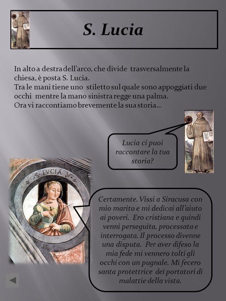 Lucia ci puoi raccontare la tua storia