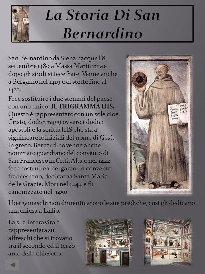 La Storia Di San Bernardino