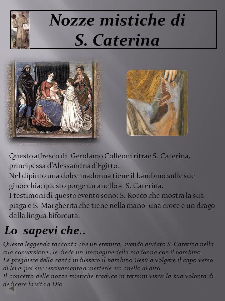 Nozze mistiche di S. Caterina