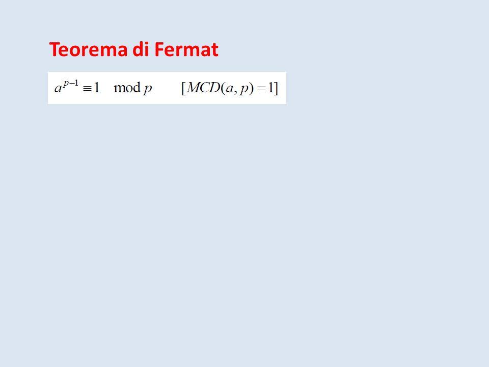 Teorema di Fermat