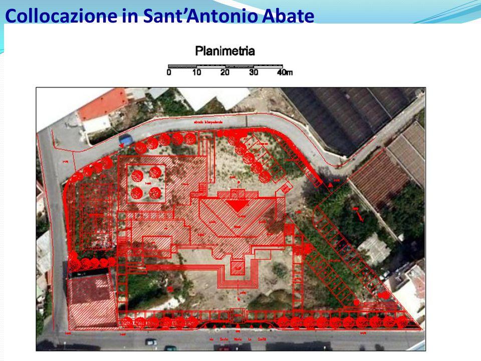 Collocazione in Sant'Antonio Abate