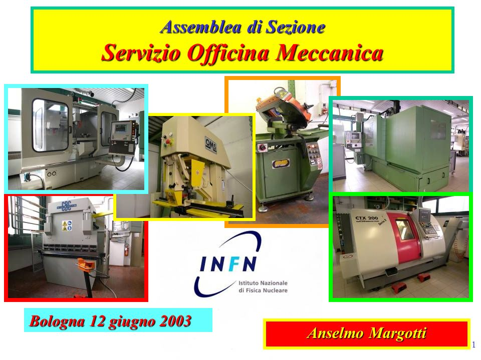 Assemblea di Sezione Servizio Officina Meccanica