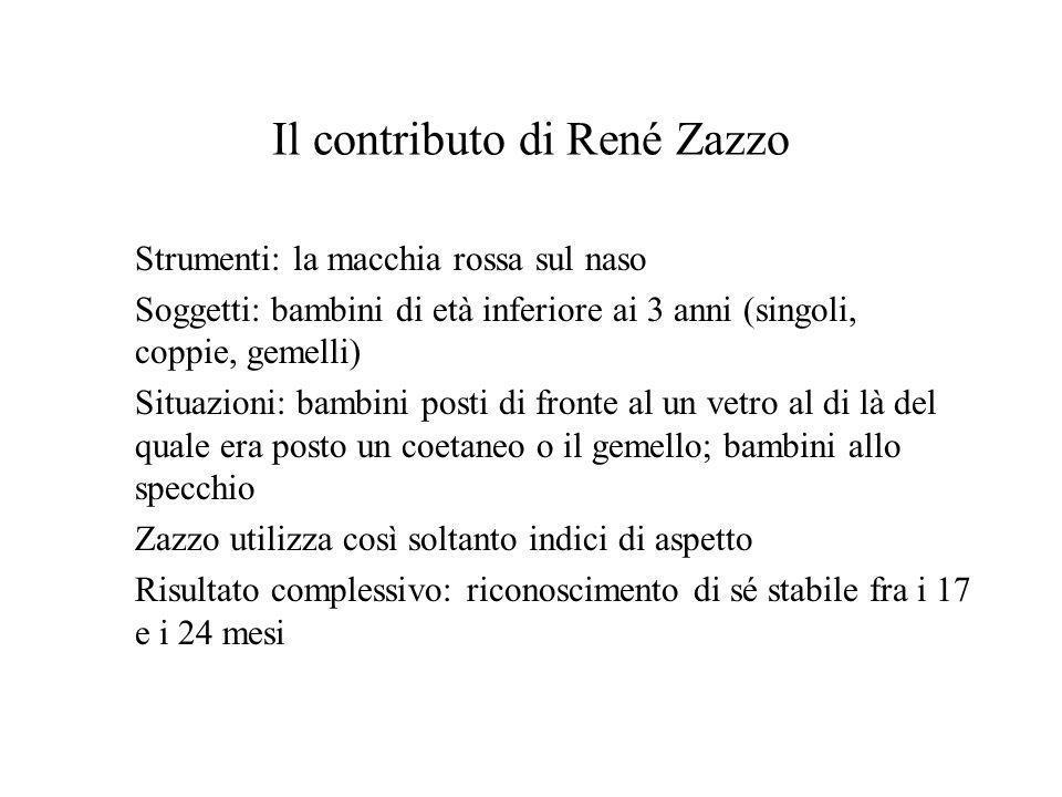 Il contributo di René Zazzo