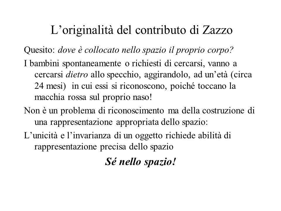 L'originalità del contributo di Zazzo