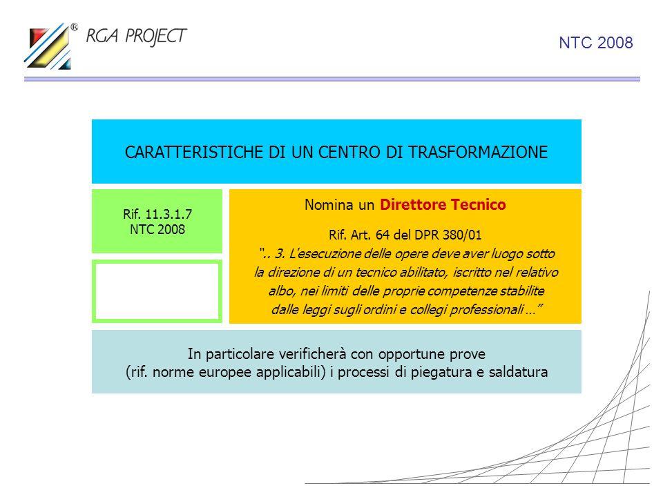 CARATTERISTICHE DI UN CENTRO DI TRASFORMAZIONE