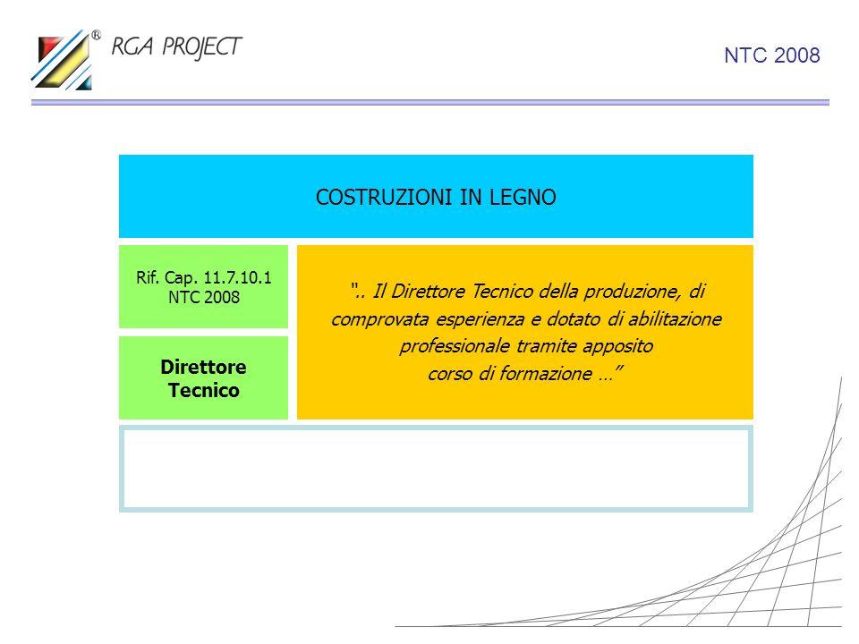 NTC 2008 COSTRUZIONI IN LEGNO