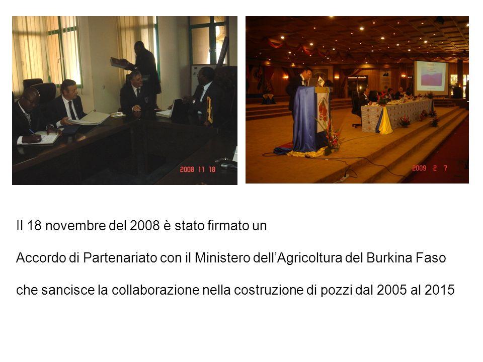Il 18 novembre del 2008 è stato firmato un