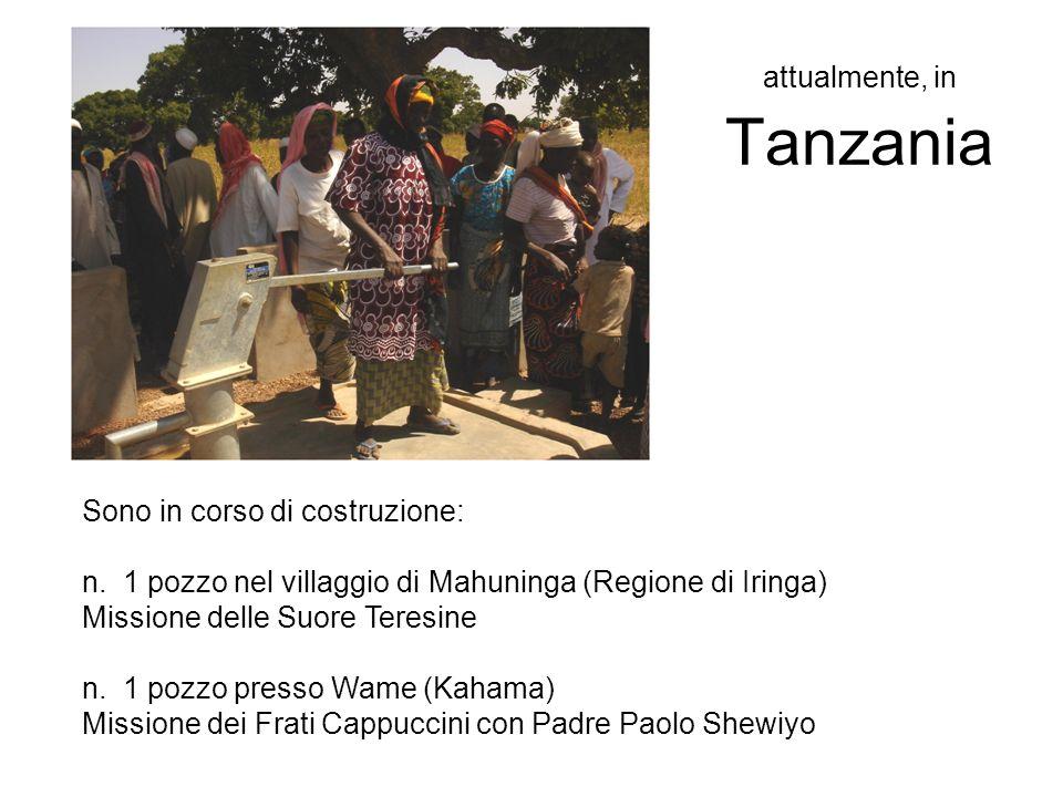 attualmente, in Tanzania