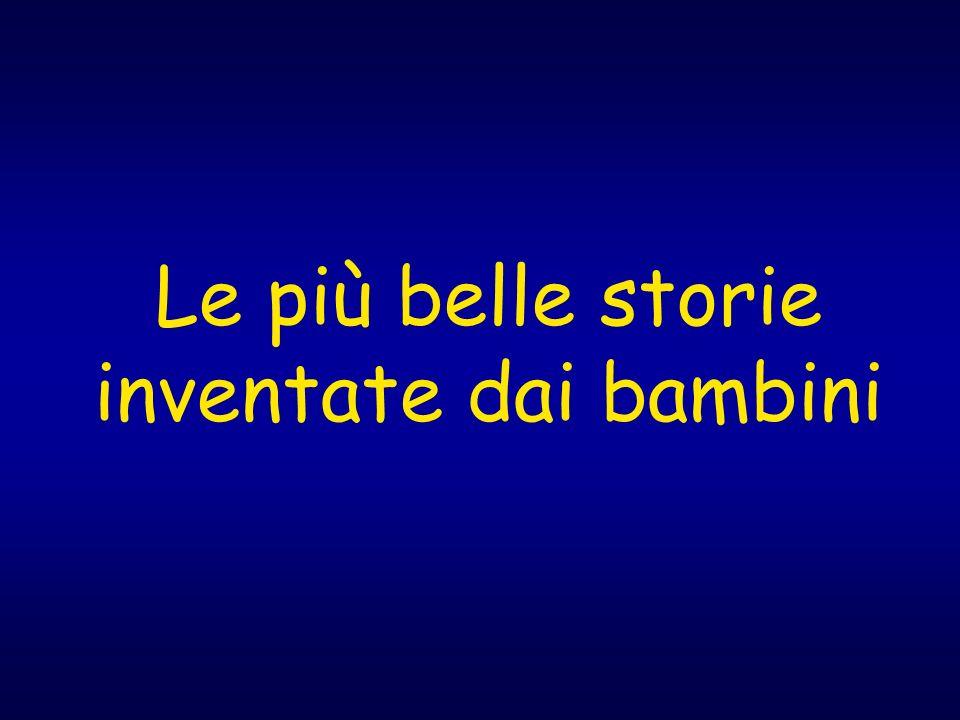 Le più belle storie inventate dai bambini