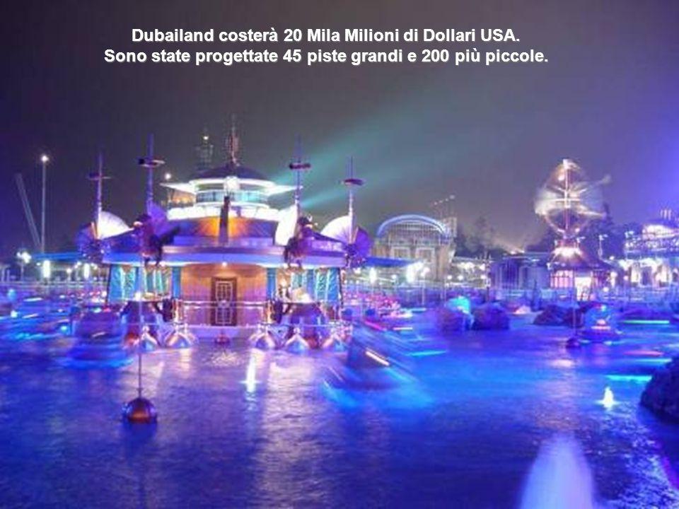 Dubailand costerà 20 Mila Milioni di Dollari USA