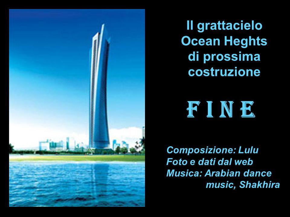 Il grattacielo Ocean Heghts di prossima costruzione