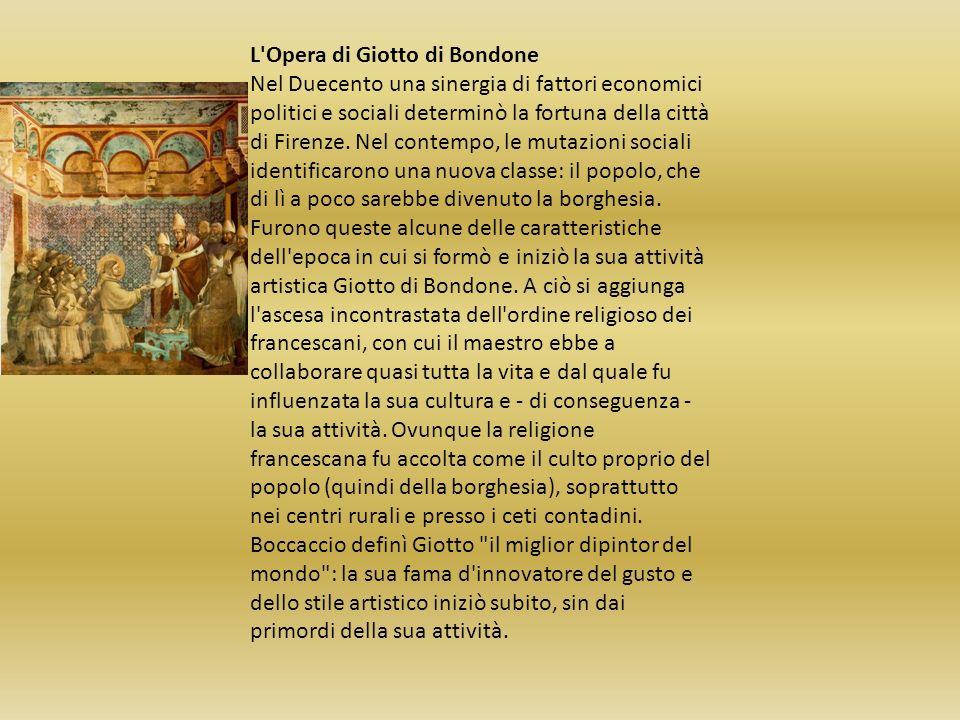 L Opera di Giotto di Bondone