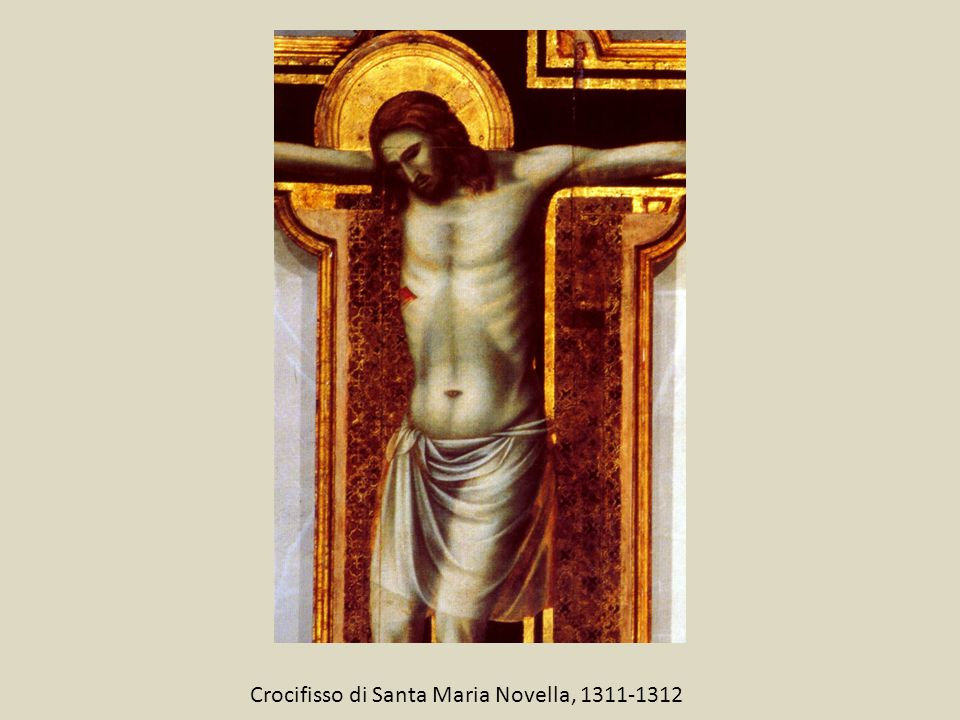 Crocifisso di Santa Maria Novella, 1311-1312