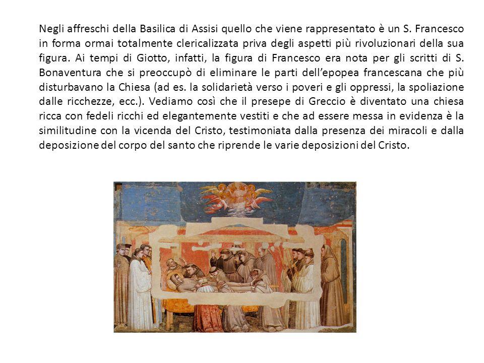 Negli affreschi della Basilica di Assisi quello che viene rappresentato è un S.