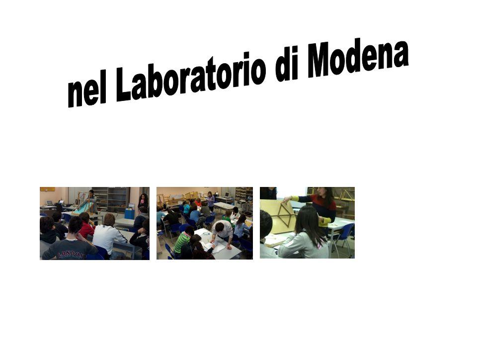 nel Laboratorio di Modena