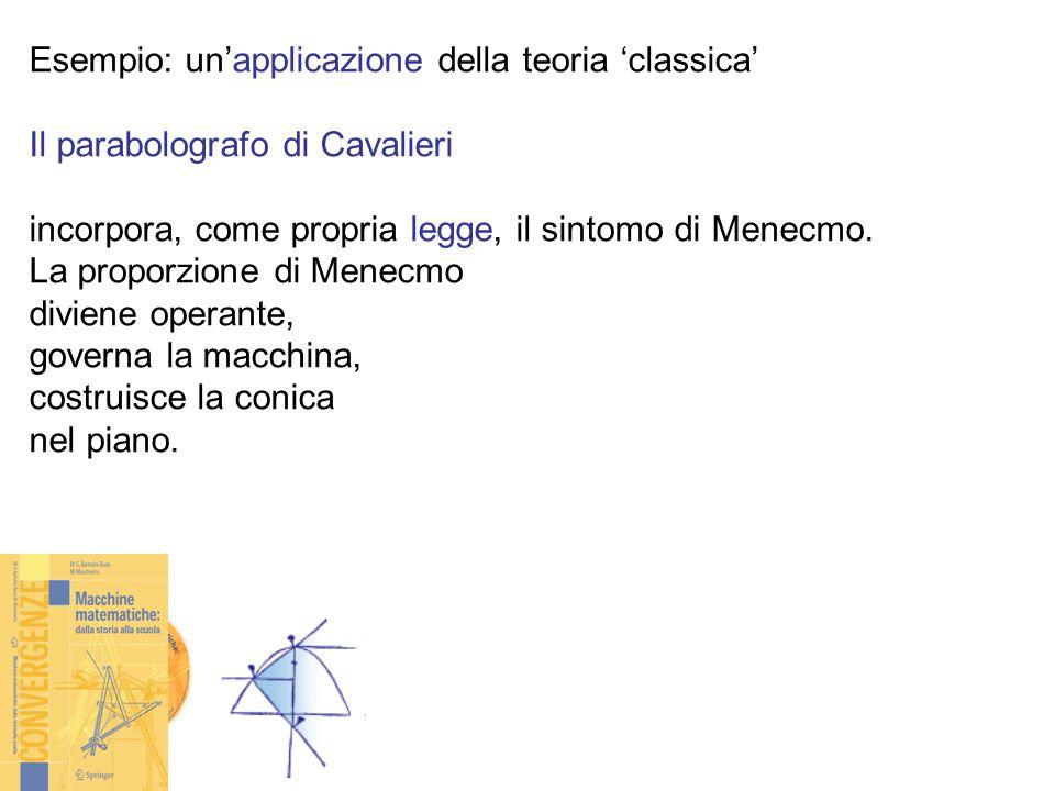 Esempio: un'applicazione della teoria 'classica'