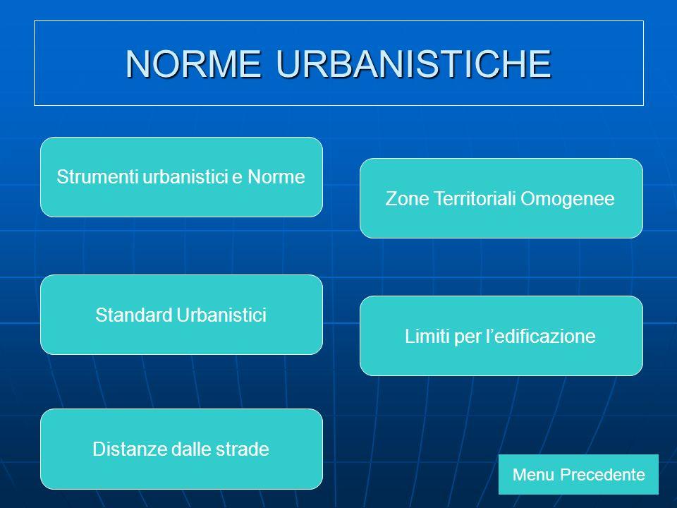 NORME URBANISTICHE Strumenti urbanistici e Norme