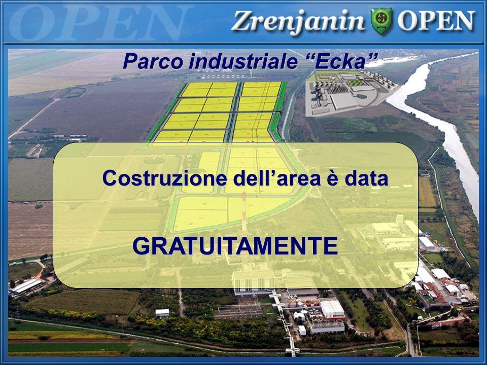 Parco industriale Ecka Costruzione dell'area è data