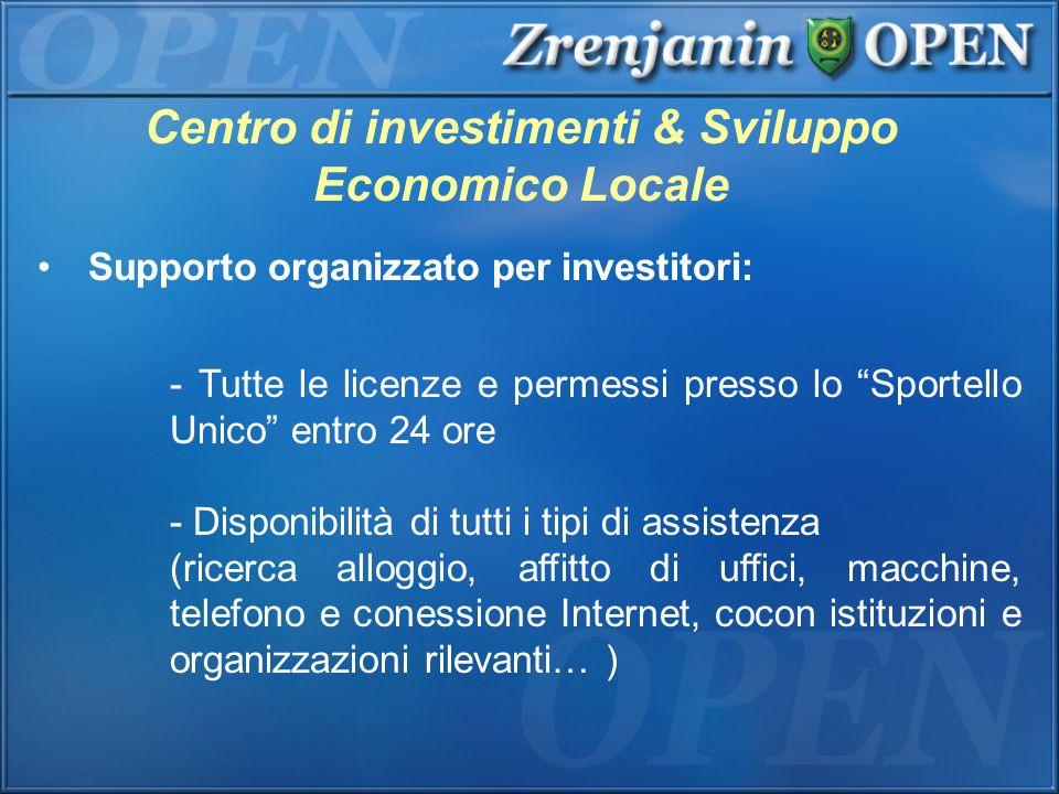 Centro di investimenti & Sviluppo Economico Locale