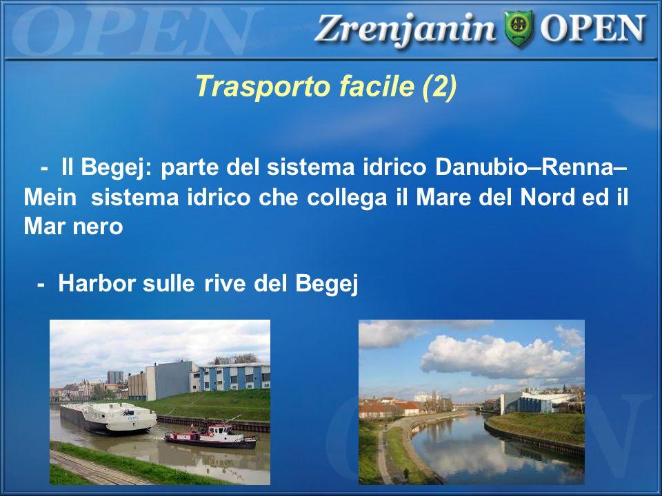 Trasporto facile (2) - Il Begej: parte del sistema idrico Danubio–Renna–Mein sistema idrico che collega il Mare del Nord ed il Mar nero.