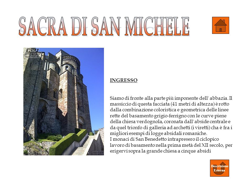 SACRA DI SAN MICHELE INGRESSO