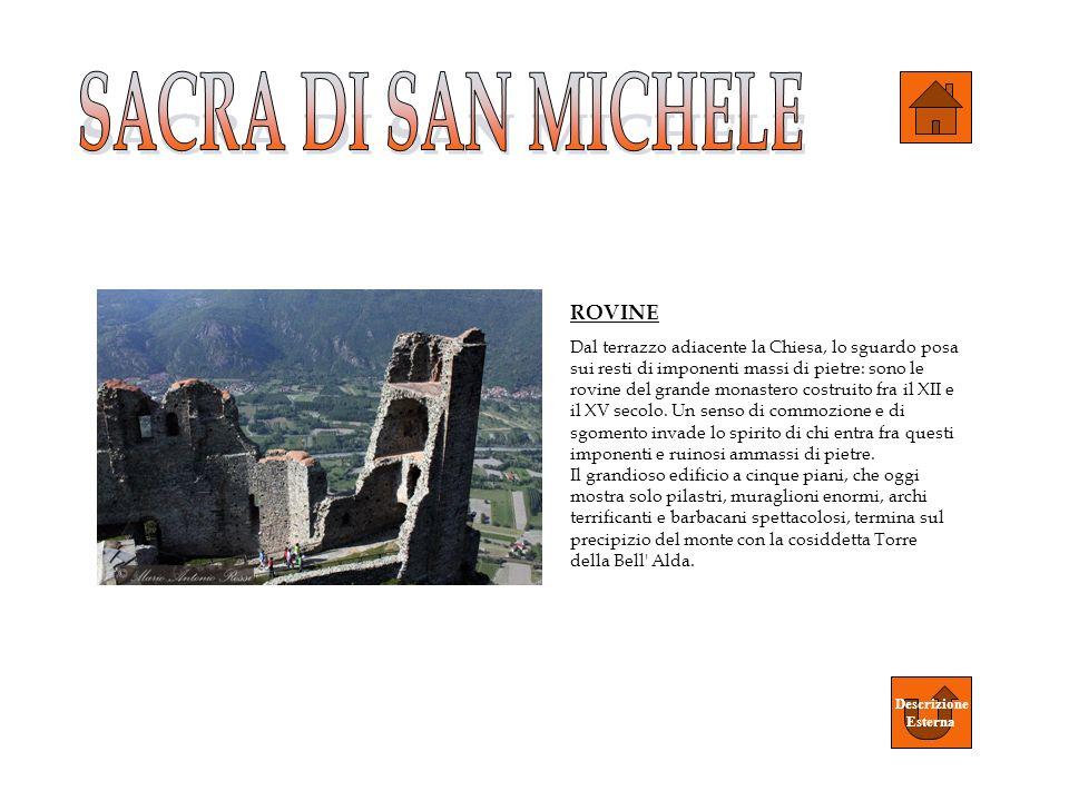 SACRA DI SAN MICHELE ROVINE