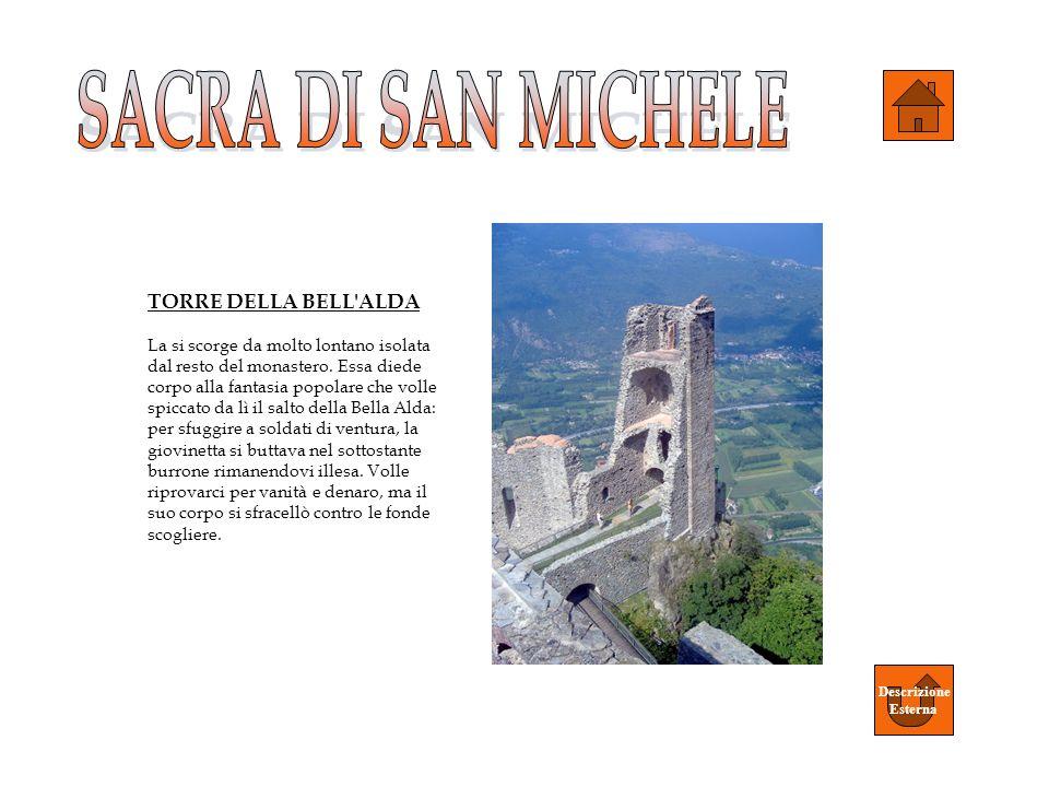 SACRA DI SAN MICHELE TORRE DELLA BELL ALDA