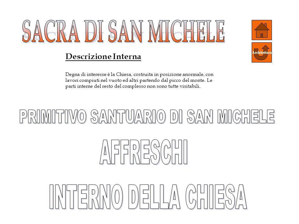 PRIMITIVO SANTUARIO DI SAN MICHELE