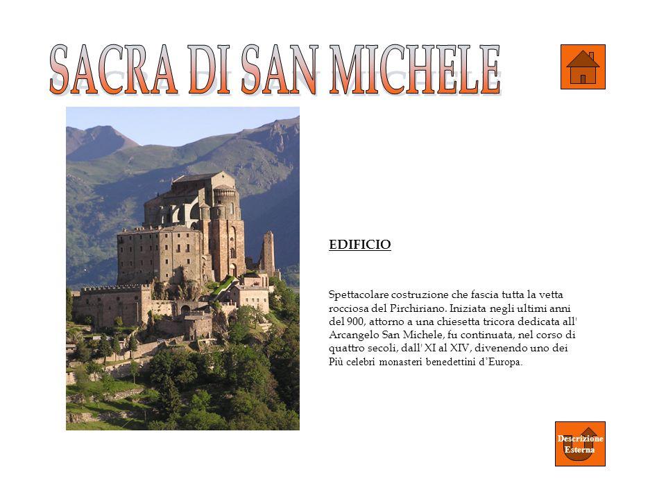 SACRA DI SAN MICHELE EDIFICIO