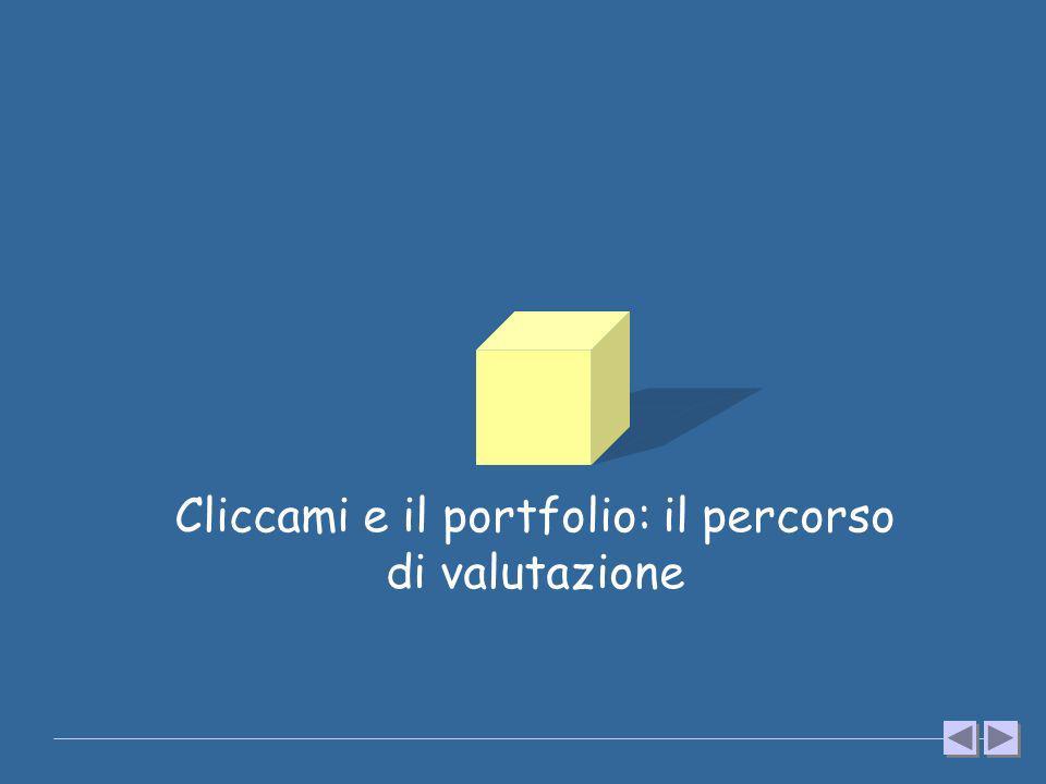 Cliccami e il portfolio: il percorso di valutazione