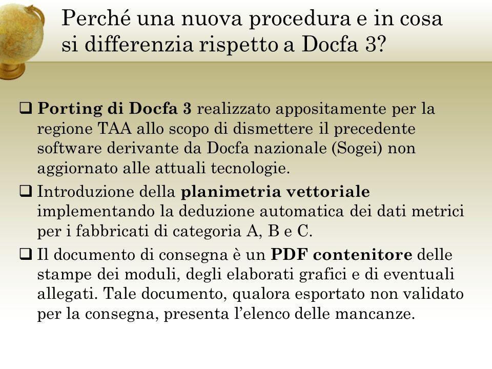 Perché una nuova procedura e in cosa si differenzia rispetto a Docfa 3