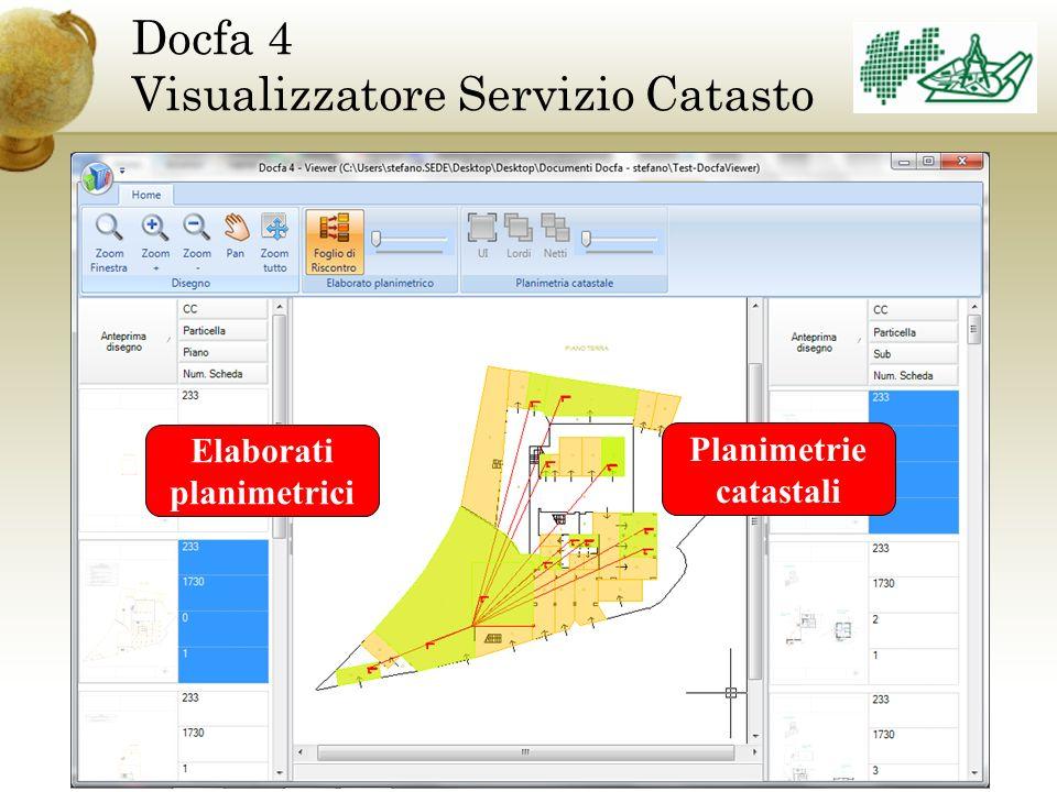 Docfa 4 Visualizzatore Servizio Catasto