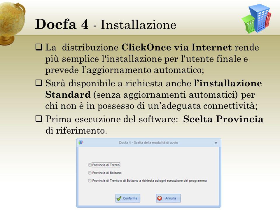 Docfa 4 - Installazione