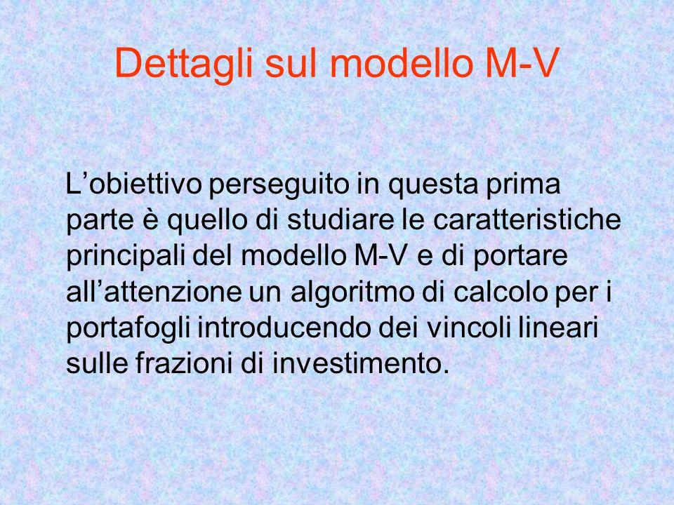 Dettagli sul modello M-V