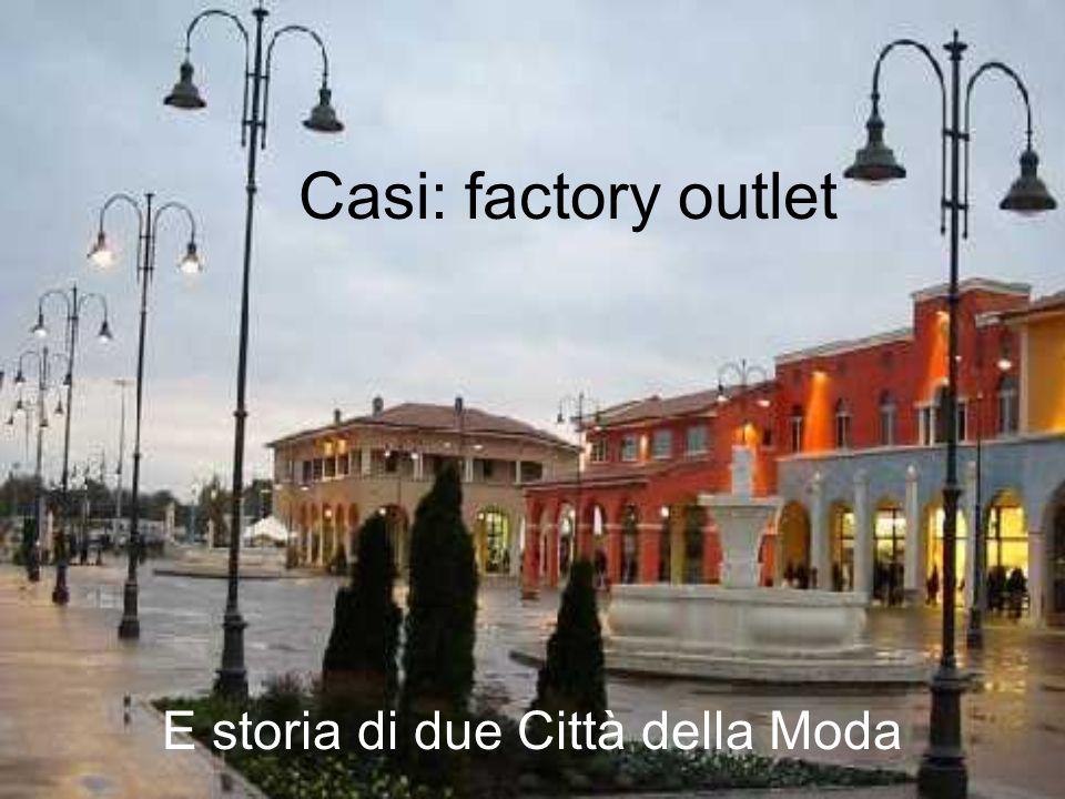 E storia di due Città della Moda