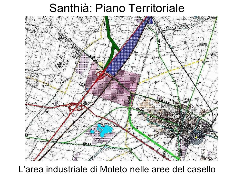 Santhià: Piano Territoriale