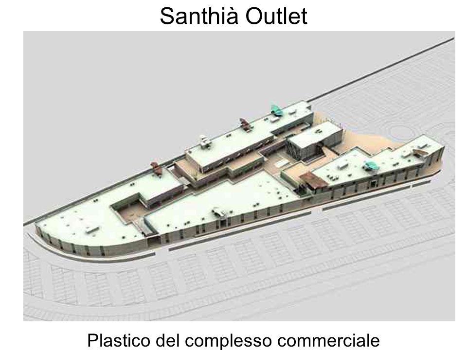 Plastico del complesso commerciale