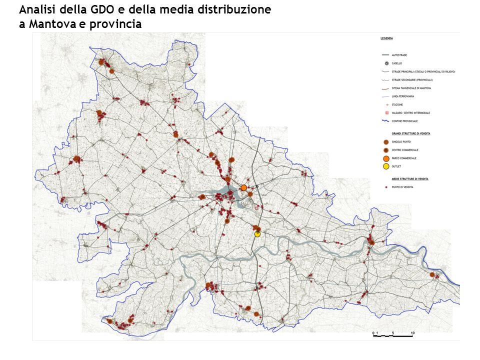 Analisi della GDO e della media distribuzione a Mantova e provincia