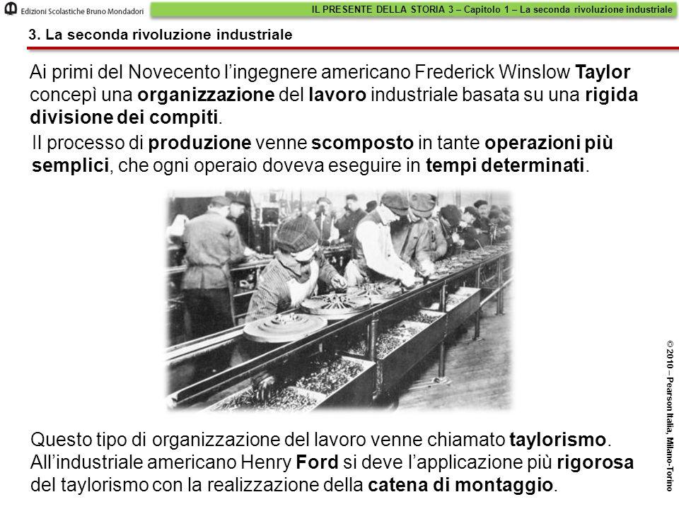 IL PRESENTE DELLA STORIA 3 – Capitolo 1 – La seconda rivoluzione industriale