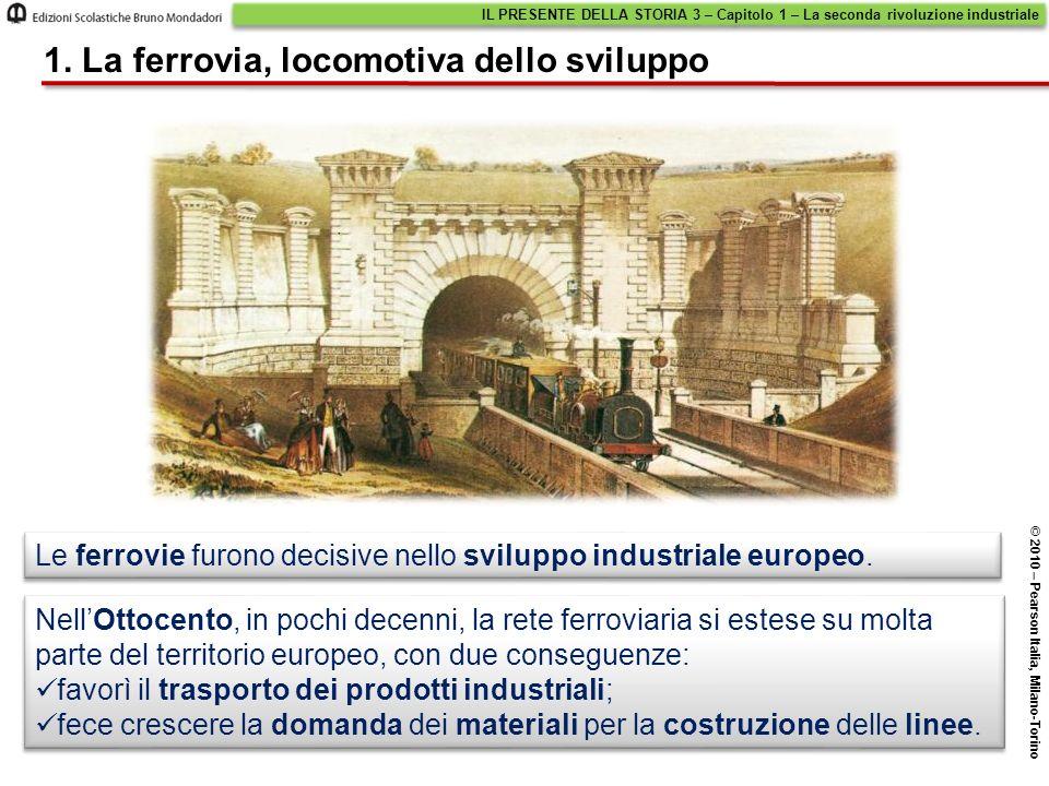 1. La ferrovia, locomotiva dello sviluppo